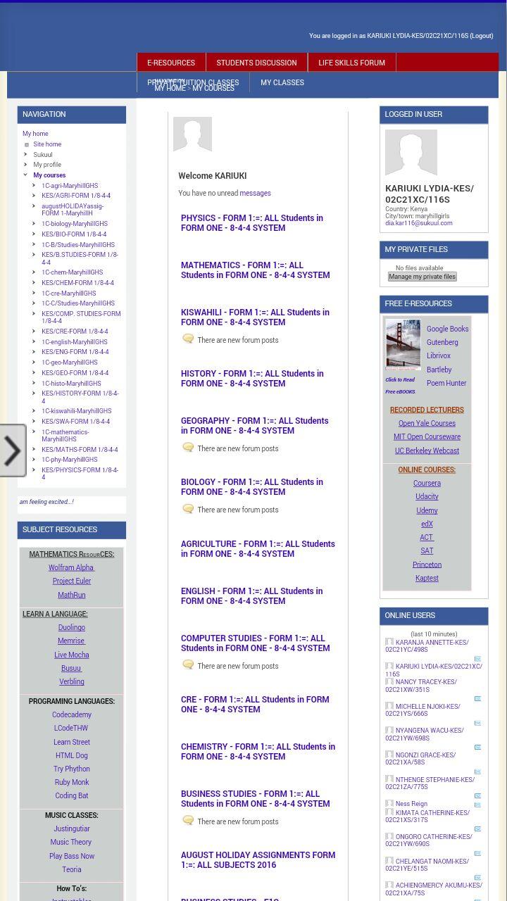Sukuul e-Learning Center